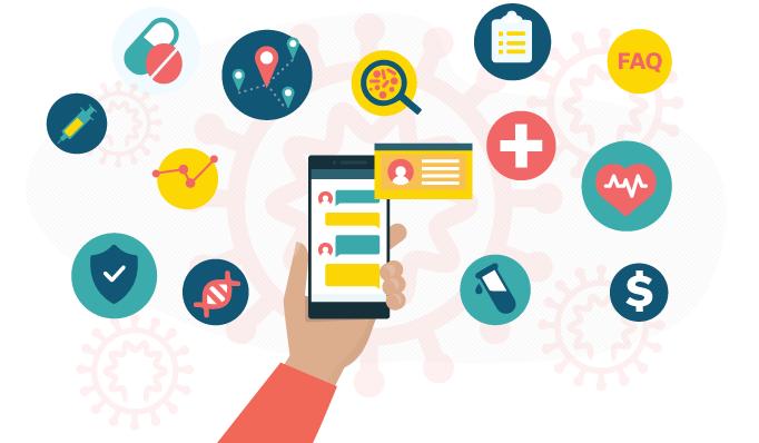 LifeLink, chatbots, healthcare, mobile, coronavirus, contact tracing, vaccine